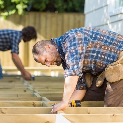 Contractors are increasingly turning to unskilled labor for construction projects due to a shortage of skilled workers.